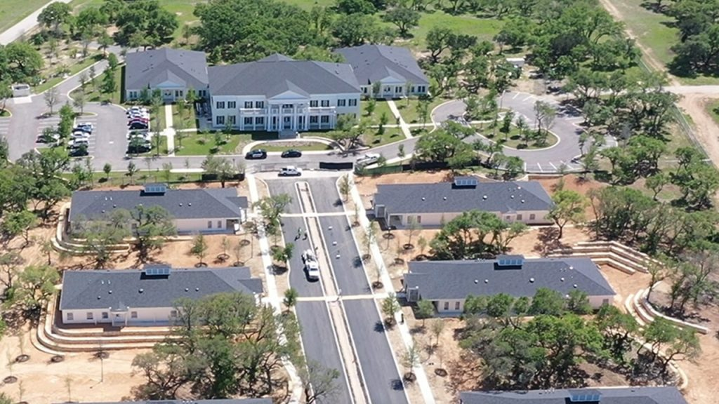 Drone Video of Sanctuary of Hope Campus Homes